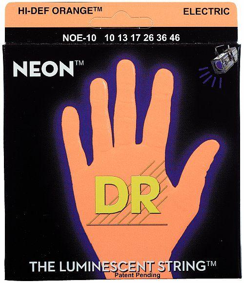DR Strings HiDef Neon Orange Medium NOE10