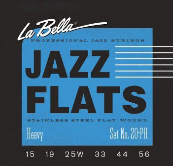 La Bella 20PH Jazz Flats