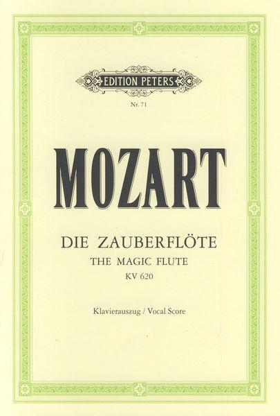 C.F. Peters Mozart Zauberflöte KV 620