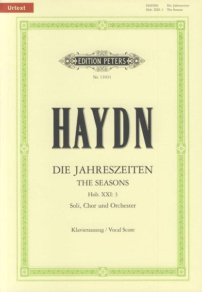 C.F. Peters Haydn Die Jahreszeiten