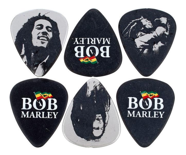 Dunlop Bob Marley Silver Pick Set H