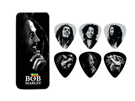 Dunlop Bob Marley Silver Pick Set M