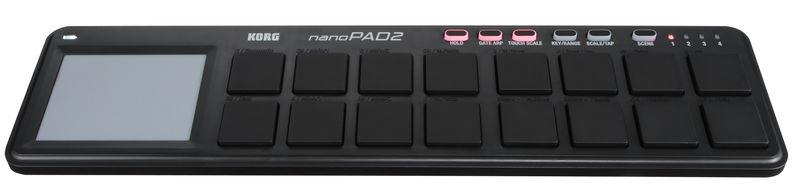 Korg nanoPAD 2 black
