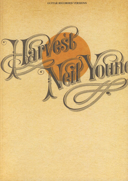 Hal Leonard Harvest Neil Young