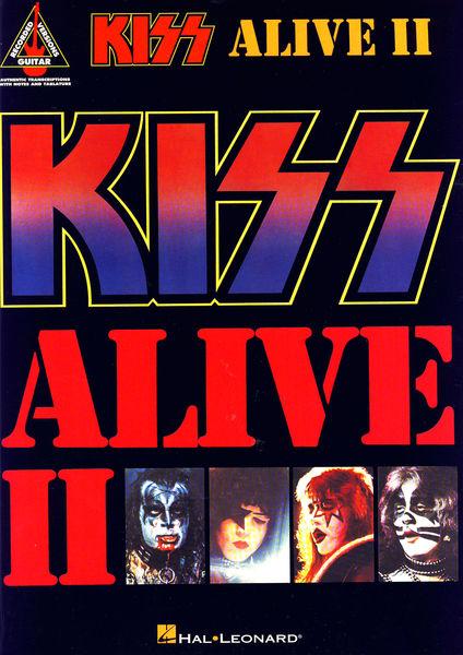 Hal Leonard Kiss Alive II