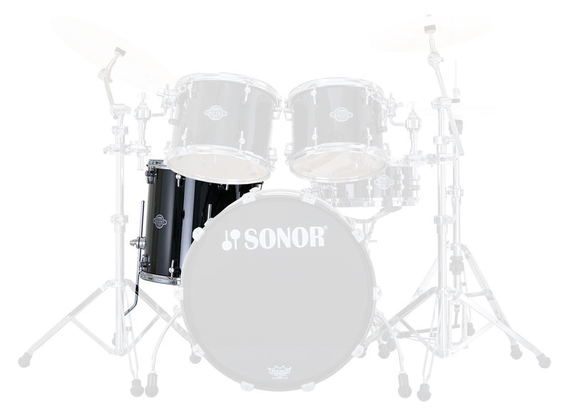 "Sonor 14""x14"" Select Piano Black"