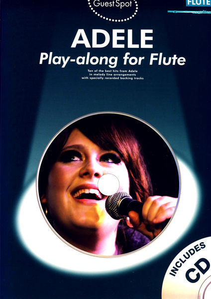 Wise Publications Guest Spot Adele Flute