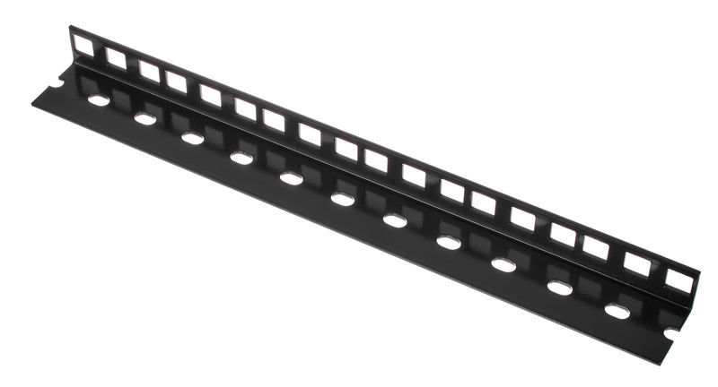 Adam Hall 61535B6 Rack Strip 6U blk