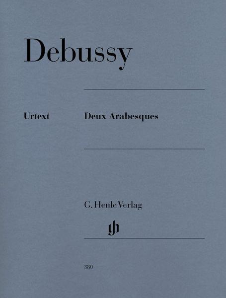 Henle Verlag Debussy Deux Arabesques