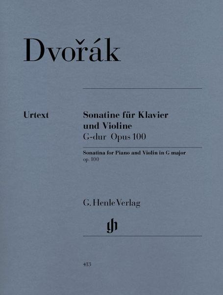 Henle Verlag Dvorak Sonatine Violin G-Dur