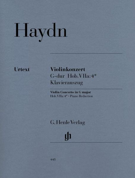 Henle Verlag Haydn Violinkonzert G-Dur