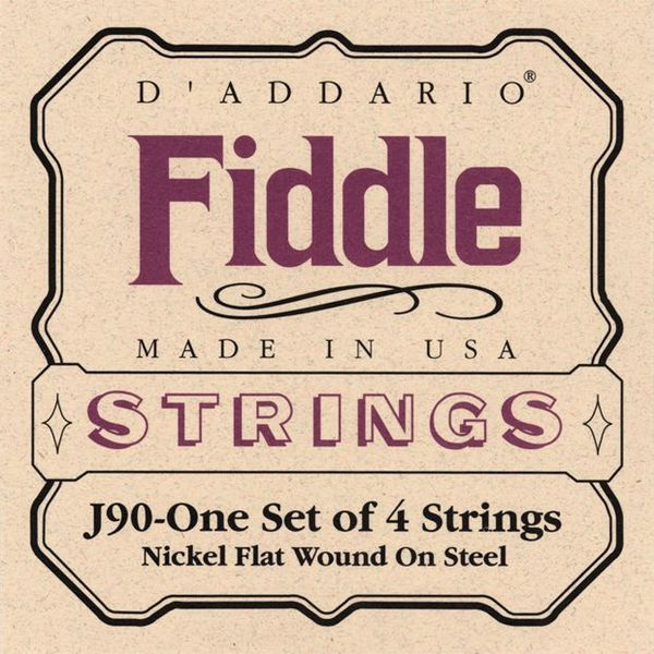 Daddario J90 medium Fiddle strings