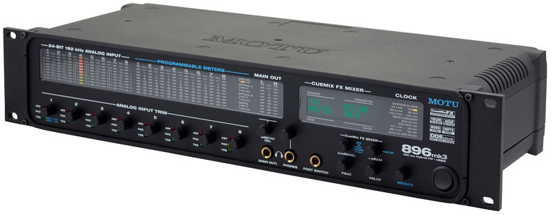 MOTU 896mk3 Hybrid Audio Interface Drivers Download Free
