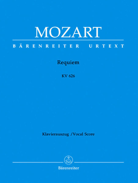 Bärenreiter Mozart Requiem KV626
