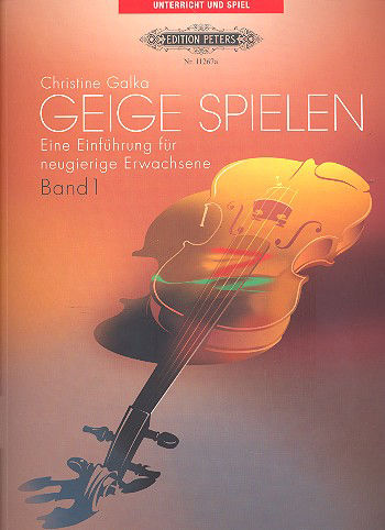 C.F. Peters Violin Spielen 1