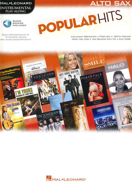 Hal Leonard Popular Hits for Altosaxophone