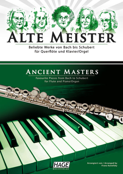 Hage Musikverlag Alte Meister Fl Piano