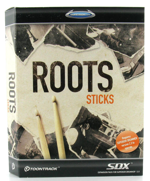 Toontrack Roots Sticks SDX