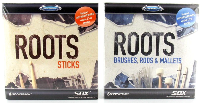 Toontrack SDX Roots-Bundle
