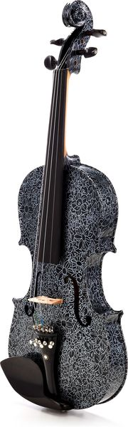 Thomann Black Flower Violin Set 4/4
