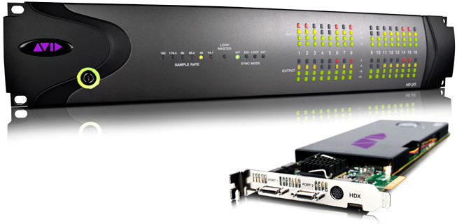 Avid Pro Tools HDX 16x16 System