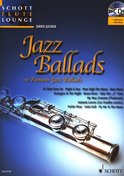 Schott Jazz Ballads Flute