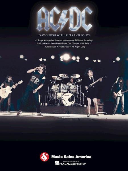 AC/DC Easy Guitar Riffs Hal Leonard