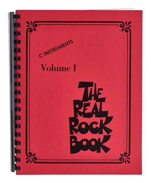 The Real Rock Book Hal Leonard