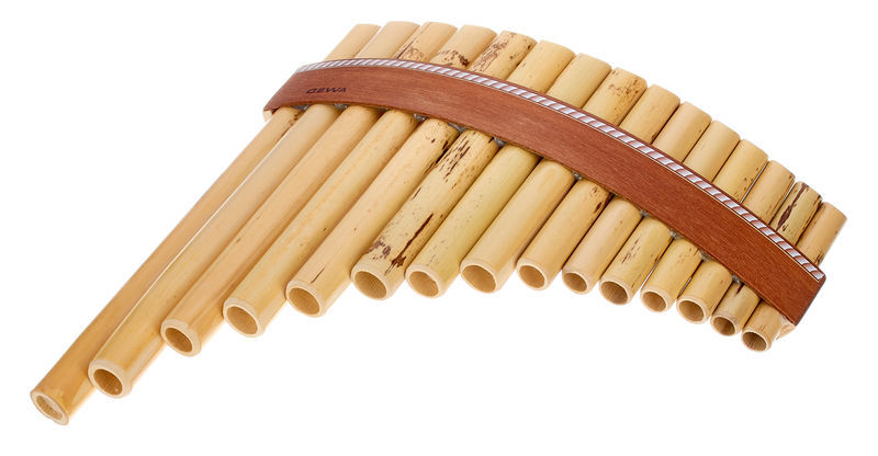 Gewa Panpipes Bb- Major 15 Pipes