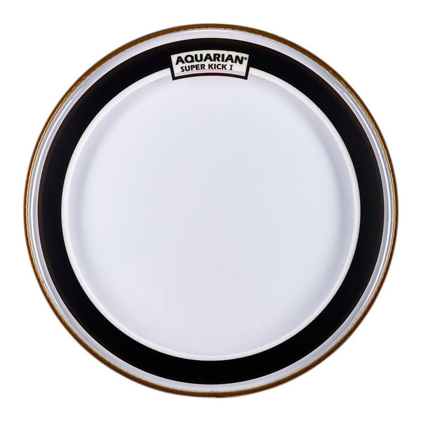 "Aquarian 18"" Super Kick Clear Bass Drum"