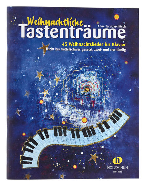 Weihnachtliche Tastenträume Holzschuh Verlag