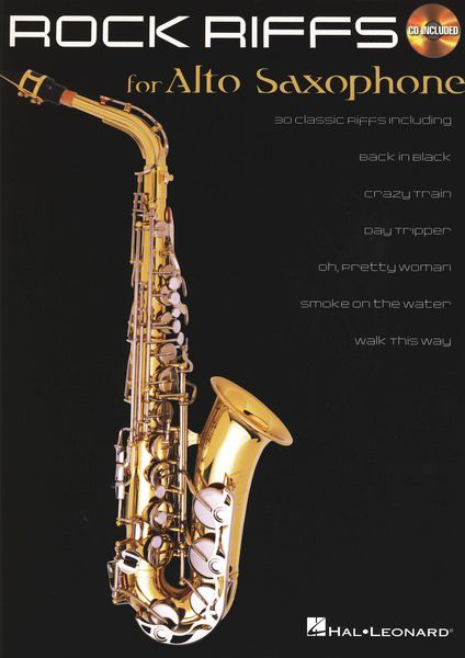 Hal Leonard Rock Riffs - Alto Saxophone