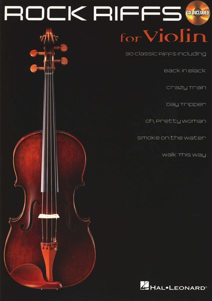 Hal Leonard Rock Riffs - Violin