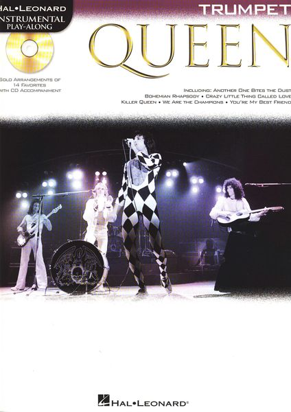 Hal Leonard Trumpet Play-Along: Queen