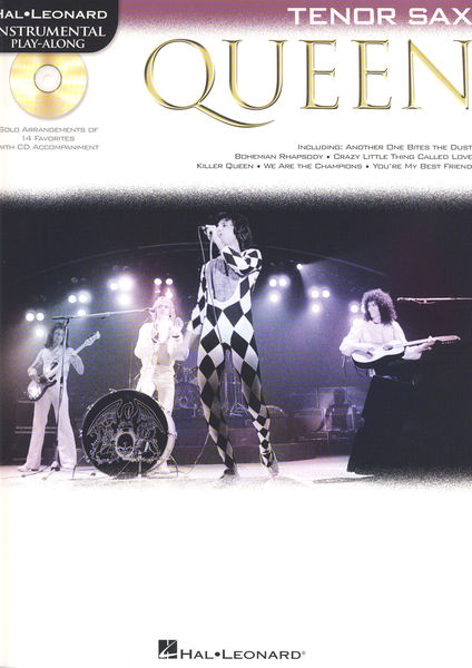 Hal Leonard Tenor Sax. Play-Along: Queen