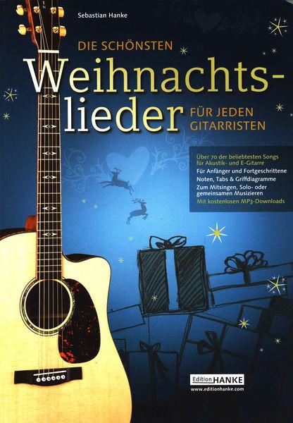 Edition Hanke Weihnachtslieder f. jeden Git.