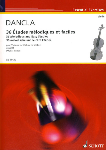 Schott 36 Etudes Melodiques Violin