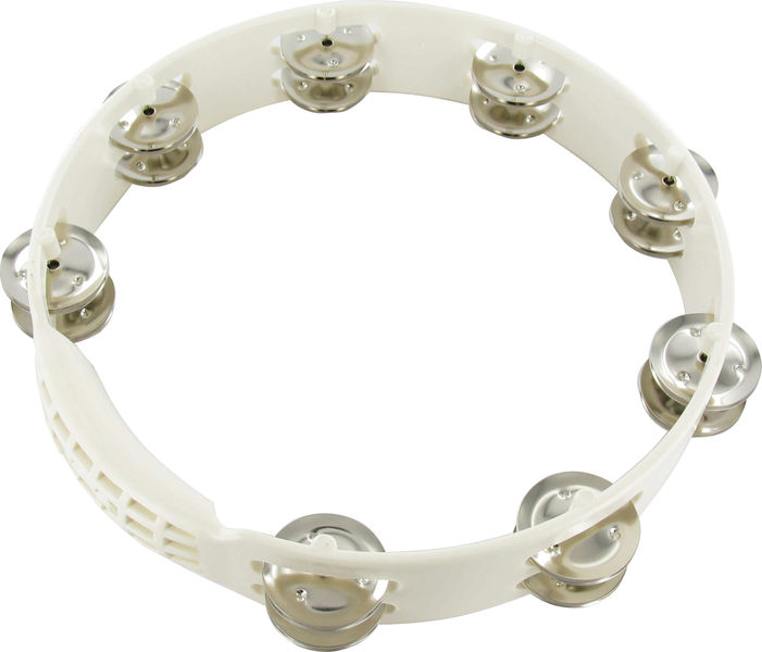 LP A192 Aspire Tambourine White