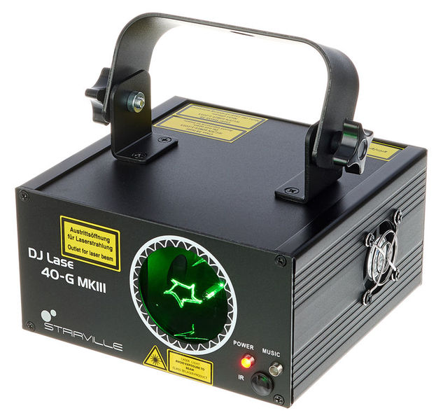 DJ Lase 40-G MK-III DMX IR Stairville