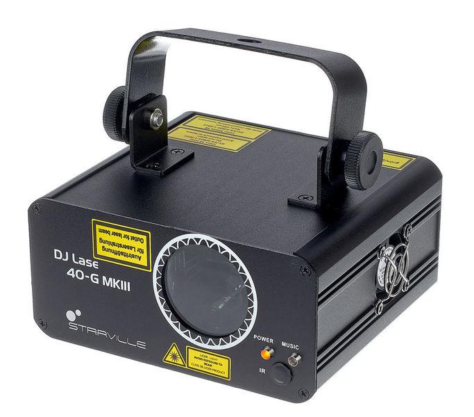 Stairville DJ Lase 40-G MK-III DMX IR