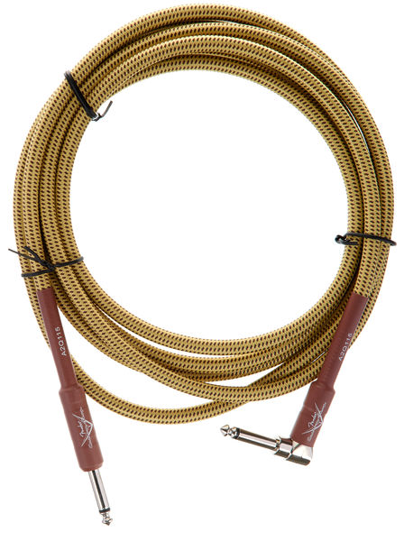 Fender Custom Shop Angle Cable TW 3m