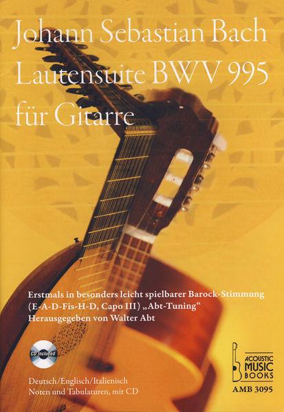Acoustic Music J.S.Bach Lautensuite BWV 995