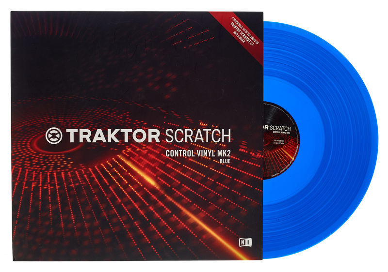 Native Instruments Traktor Scratch Vinyl Blu MkII