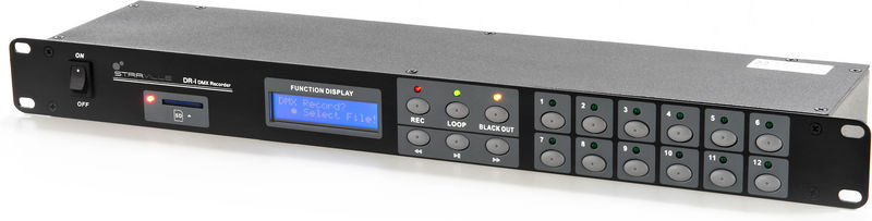 "Stairville DR-1 DMX Recorder 19"" SD"