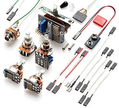 EMG 3 Pickups Wiring Kit Push/Pull