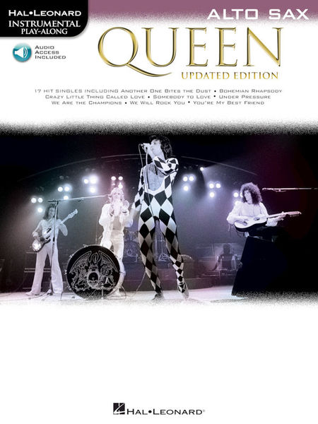 Hal Leonard Queen A-Sax Play-Along