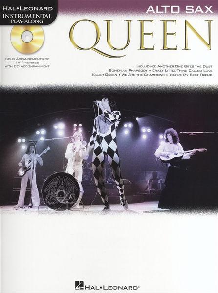 Hal Leonard Alto Saxophon Play Along Queen