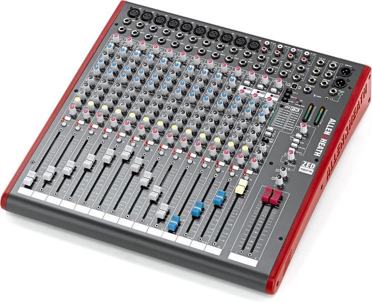 table de mixage zed