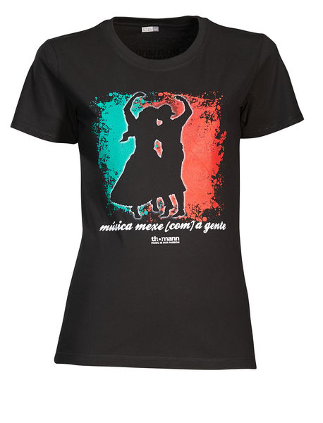 "Thomann Girlie T Shirt ""música..."" M"