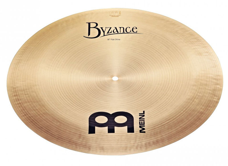 "Meinl 18"" Byzance Flat China"